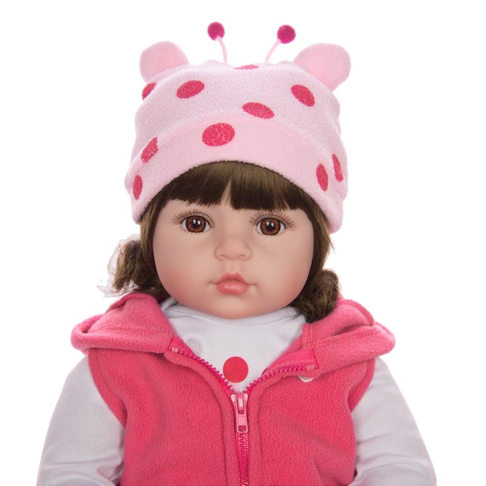 recem nascido toque real bebe boneca com girafa aniversario natal 03