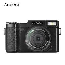 Andoer R1 1080P Digital Kamera 15fps Full HD 24MP 4X Digital Zoom Video Kamera Versenkbare Taschenlampe w/UV filter 4k Camcorder