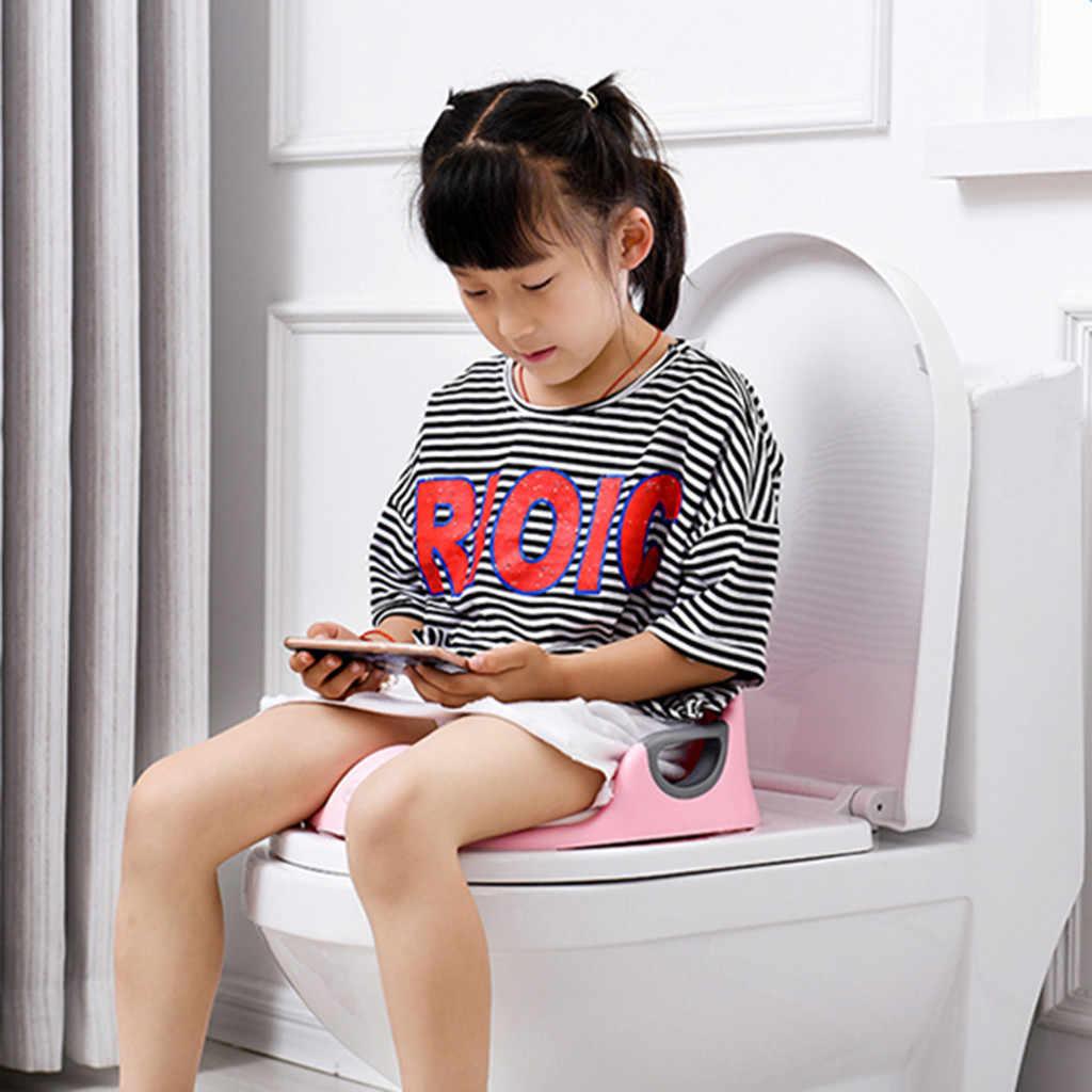 เด็กทารกห้องน้ำการฝึกอบรมไม่เต็มเต็งที่นั่งสำหรับเด็กเด็กที่นั่งเบาะจับพนักพิงที่นั่งเด็กหม้อ
