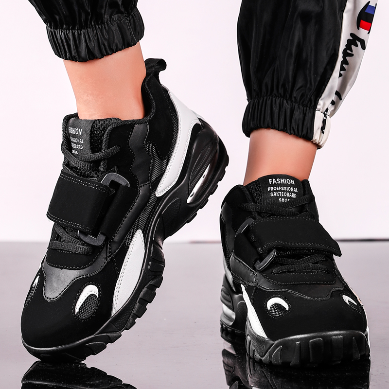Women Chunky Sneakers Autumn Winter Mixed Color 9