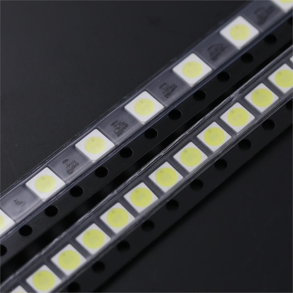 2835 3528 LED Module For LG Led TV Backlight 10pcs 2835 3V 6V Kit Electronic Led For LCD TV Repair Assorted Pack Kit  Cool White