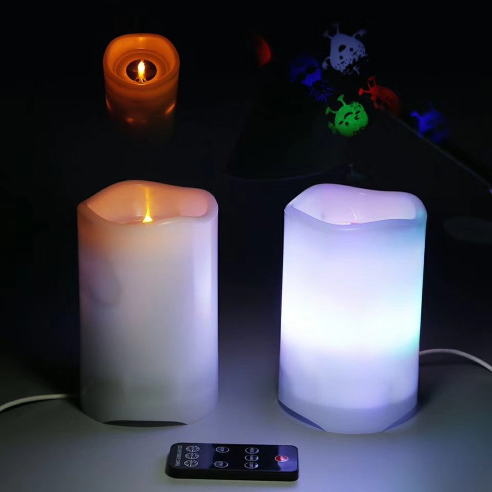 Купить с кэшбэком Starry LED Night Light USB Powered Kids Gifts LED Candle Projector Moon Lamp Children Bedroom Projection Lamp