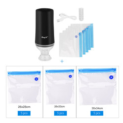 USB Famiglia Cibo Vacuum Sealer Pompa Vuoto Sigillatore di Imballaggio di Vuoto di Tenuta Della Macchina Confezionatrice Con 15Pcs di trasporto
