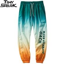 Men Hip Hop Pants Streetwear Gradient Color Sweatpants Harajuku Joggers Pants Casual Tie Dye Track Trousers Autumn 2020 Hipster