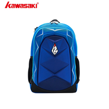 Kawasaki Badminton Backpack Travel-Bag Racket Blue Red Master-Series KBB-8245 Outdoor