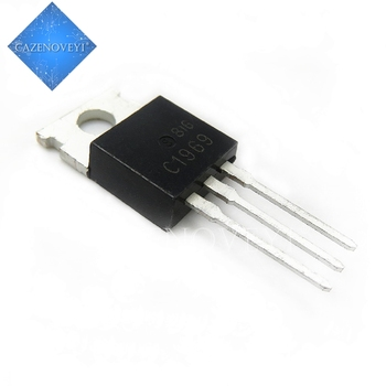 10pcs/lot 2SC1969 C1969 TO-220 Best quality In Stock - discount item  8% OFF Active Components