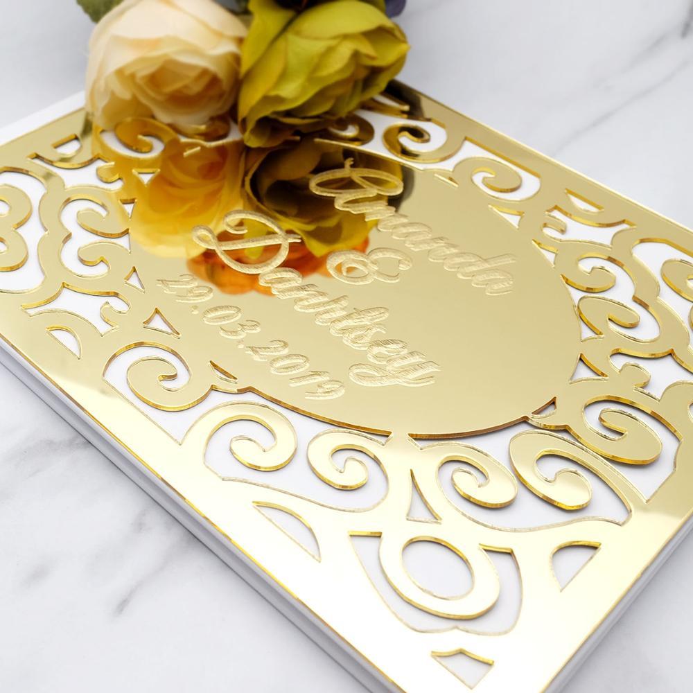 Tiger Acrylique Salle de Bain Miroir anniversaire cadeau de mariage personnalisé 4 Gratuit