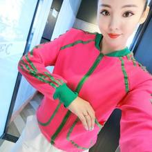 2021 Spring and Autumn New Fashion Net Red Knitted Cardigan Women's Color Short Coat Foreign Style Large Size