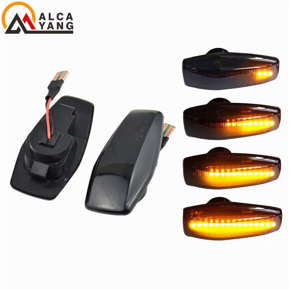 Для Hyundai Elantra i10 Getz Sonata XG Tucson Terracan Coupe автомобильный указатель поворота светильник светодиодный боковой маркер последовательная мигалка лампа|Сигнальная лампа|   | АлиЭкспресс
