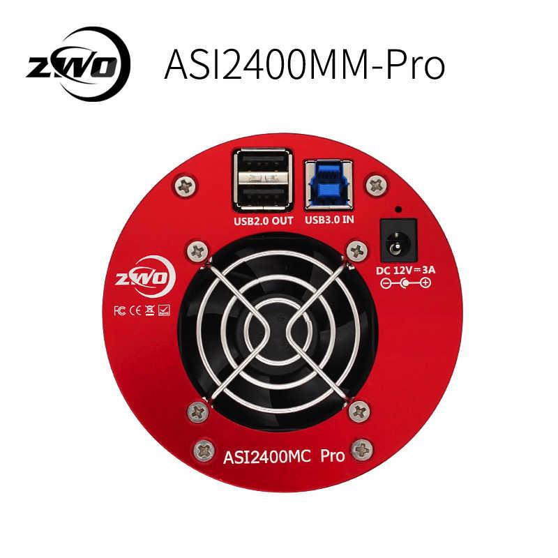 Профессиональная монохромная астрономическая камера ZWO ASI2400MM ASI Планетарная Солнечная Лунная визуализация/высокое разрешение высокоскоростная ASI 2400 мм