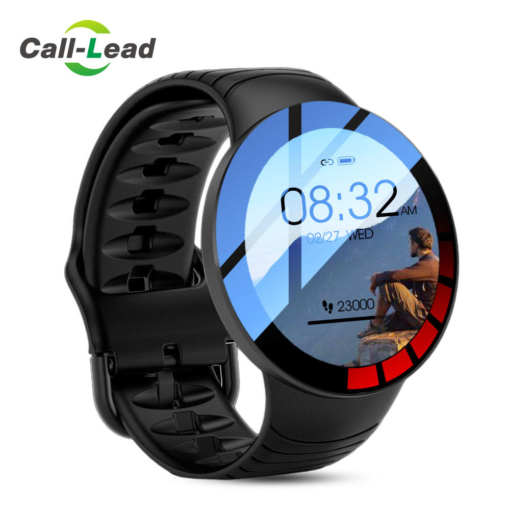 E-3 Smart Watch Men Full Touch Screen Custom Watch-Dial IP68 Waterproof Sports Fitness Tracker New Smartwatch for Android IOS