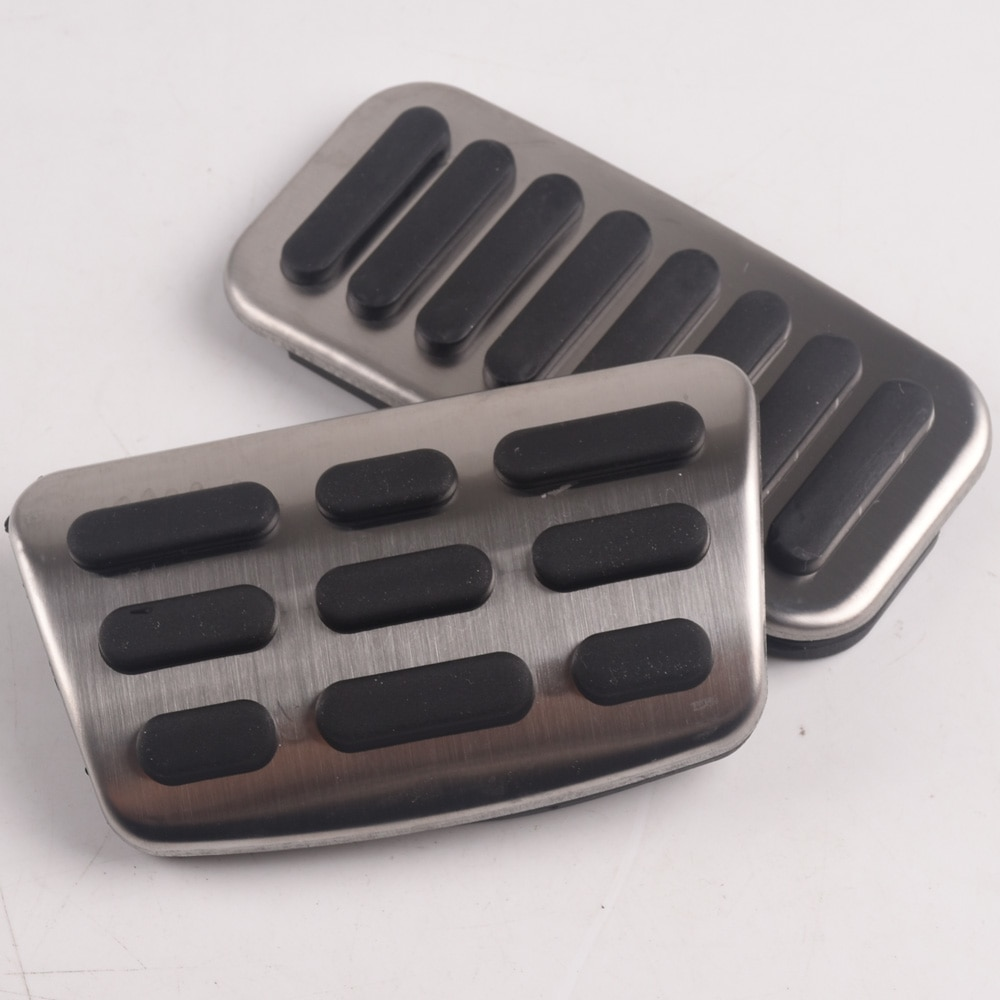 Gas Fuel Brake Pedal Pads Cover AT For Hyundai <font><b>i30</b></font> IX35 For Kia KX7 KX5 Forte Car Styling image