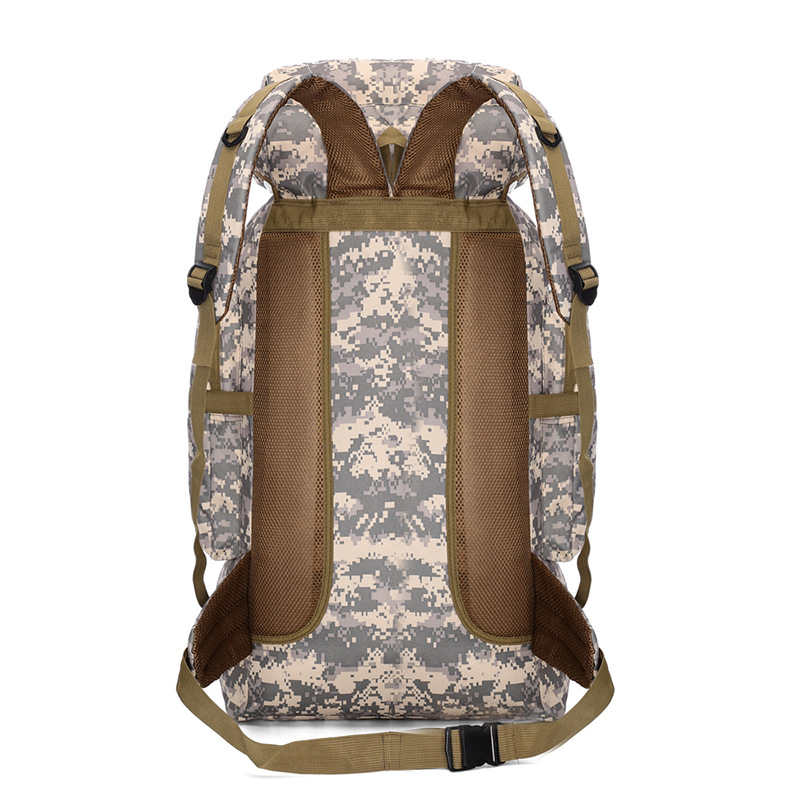 Backpack Tactical Waterproof Outdoor Sports Camouflage Hiking-Bag New 75L Adjustable