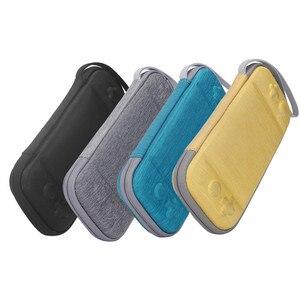 Image 1 - 닌텐도 스위치 라이트에 대 한 휴대용 슬림 케이스 스토리지 가방 콘솔 액세서리 여행 운반 케이스 파우치 Shockproof 가방