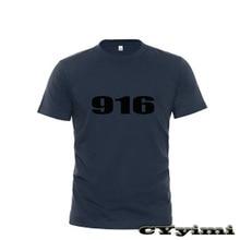 T-Shirt SPS Ducati Short-Sleeve Round-Neck Men 100%Cotton for 916/916/Sps New LOGO Summer