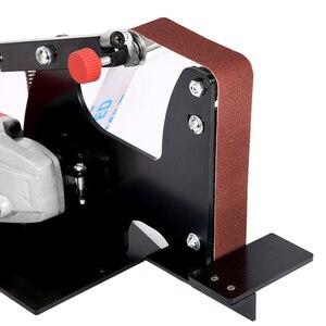Image 5 - Adaptateurs de courroie de ponçage pour meuleuse dangle électrique M10/M14, bricolage, accessoires pour ponceuse, polisseuse du bois 100/115/125