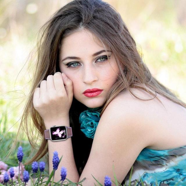 Bracelet pour bracelet de montre Apple 44mm 40mm i bracelet de montre 42mm 38mm Nylon boucle bracelet correa bracelet montre Apple 5 4 3 38/42/40/44mm