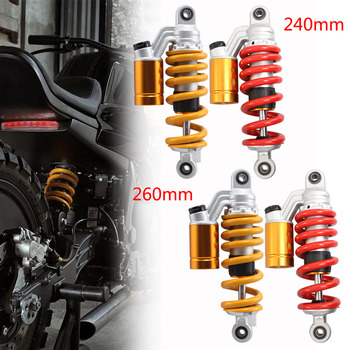 Motocycle Adjustable Air Shock Absorber Gas Rear Suspension For Honda Msx 125 Grom SF Electric Monkey Cafe Racer Kawasaki Ninja