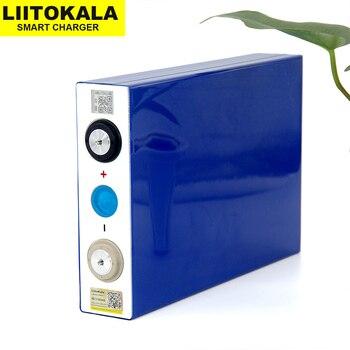 2PCS Liitokala 3.2V 90Ah battery LiFePO4 Lithium iron phospha Large capacity 90000mAh Motorcycle Electric Car motor batteries