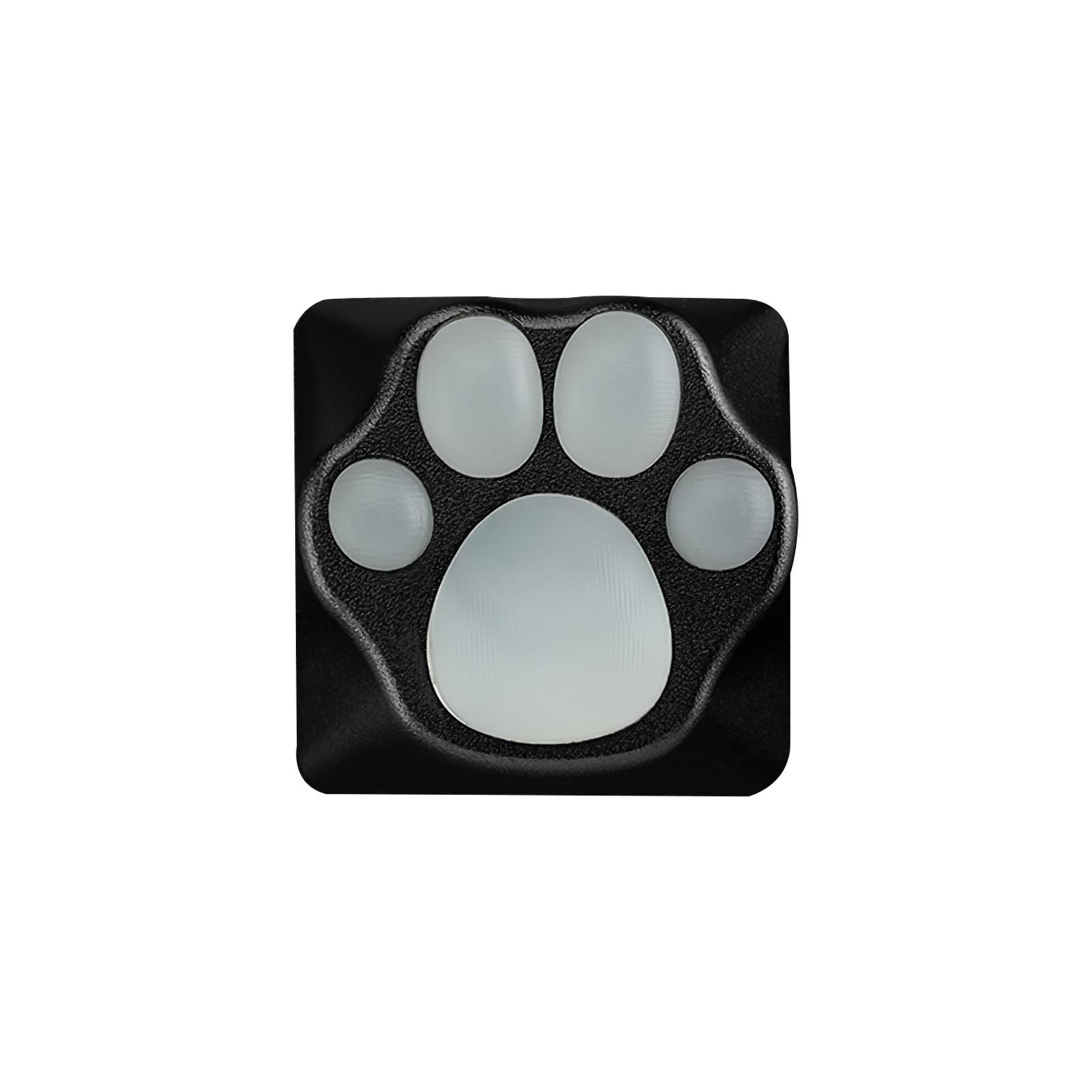 personalidade personalizado abs metal e silicone gato