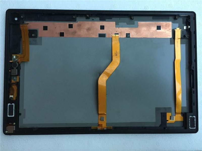 White For Sony Xperia Tablet Z2 SGP511 SGP512 SGP521 Housing Back Cover Case REAR CASING Housing Repair Part+ Flex Cable+speaker