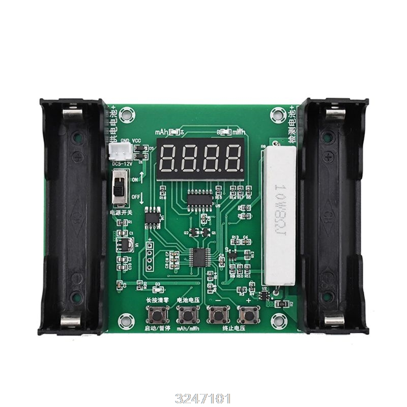 XH-M240 Battery Capacity Tester For 18650 Lithium Discharge Energy Testing Meter