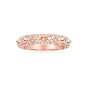 Image 4 - KAKANY 2020 Fashion Glamour Cubic Zirconia 1: 1 Copy, Black, Pink Zircon Bone Finger, Luxury Jewelry Gift for Monaco Women