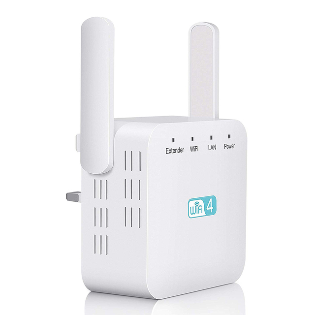 300Mbps Universal Signal Booster Portable Network Wireless Accessories Range Extender Amplifier Computer Access Point Router ABS 2