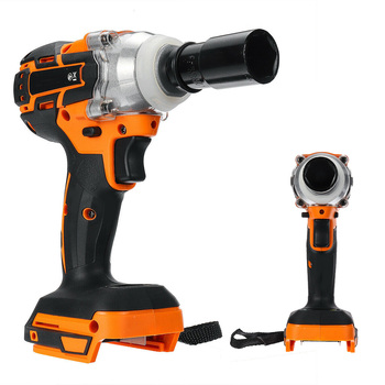 Multi Functional Cordless Electric Wrench Impact Sleeve Repairing Shelves Maintenance Woodworking Power Wrench