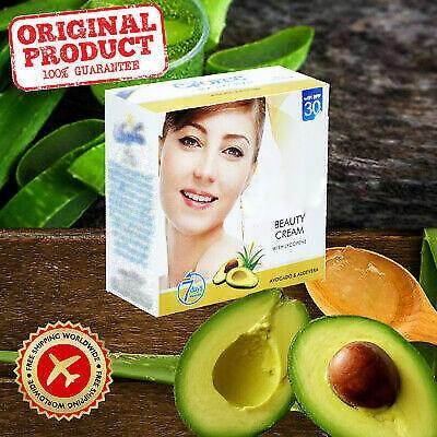 ORIGINAL SKIN WHITENING Vitamin B3 BEAUTY CREAM WITH AVOCADO&ALOEVERA FREE SHIPPING