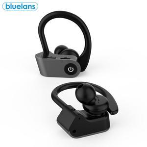 Наушники-вкладыши TWS с Перезаряжаемые Беспроводной Bluetooth 5,015 мм подвижная катушка отличный звук динамический в ухо наушники дужка наушников