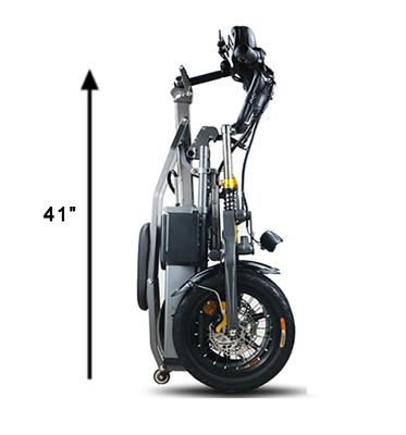 JX003 3 Wheel Electric Scooter E Bike Bicycle foldable High Speed Electric Tricycle with 2 pcs battery 350W Powerful  for Adult 11