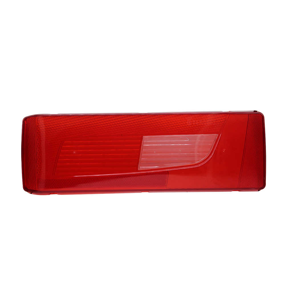 1 ペア ABS レンズカバースカニアトラック用トレーラーリアテールライトテールライト警告ランプガラス