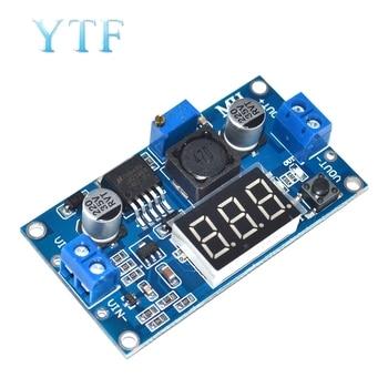 DC-DC Adjustable Step-down Power Supply Module LM2596 Voltage Regulator With Voltmeter Display Digital Display 3.3V 5V 12V