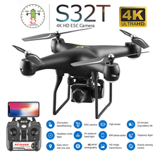 New Drone with Camera 4K HD WiFi FPV Real Time Aerial Video Altitude Hold RC Quadcopter Helicopter Toys VS SG106 E58