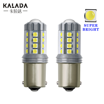 2pcs high bright 1156 BA15S P21W S25 Reversing Light Car Led Tail lamp Automobile Brake Lamp Bulbs Turn Signal Light 12V - 24V