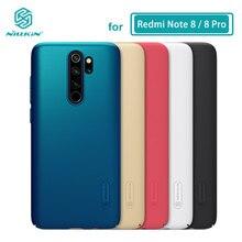 Redmi Note 8 Pro чехол Nillkin матовая жесткая задняя крышка из ПК чехол для Xiaomi Redmi Note 8 8T Note8 Pro