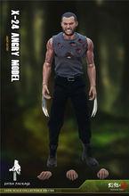 цена на New Stock Scorching Soul 1/6 Cloned Wolverine Villain Wolf X24 Male Figure Toys War Damage