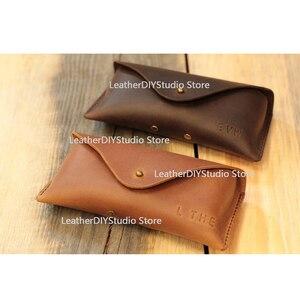 Image 1 - 革ダイカッター日本鋼の刃ルール鋼パンチサングラスメガネケースの金型を切削木材は革工芸品
