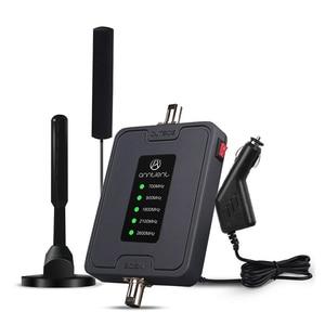 Усилитель мобильного сигнала 2G 3G 4G 700/900/1800/2100/2600 МГц, повторитель сигнала для сотового телефона, усилитель LTE, репитер для RV/CAR/Boat