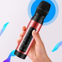 Профессиональный bluetooth Беспроводной микрофона караоке Динамик