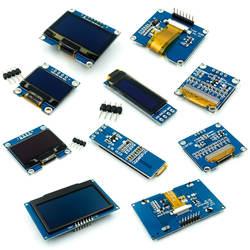 Белого и синего цвета цвет 128X64 O светодиодный ЖК-дисплей светодиодный Дисплей модуль для Arduino 0,96 0,91 1,3 I2C IIC Серийный новый оригинальный с CaseI