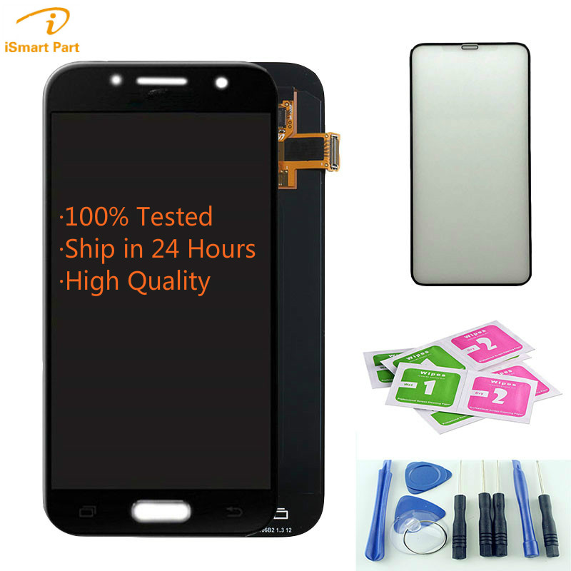Aaa+ Quality Original /TFT For Samsung Galaxy A3 2017 <font><b>A320</b></font> SM-A320M A320F A320Y Lcd Display with Touch Screen Digitizer Assembly image
