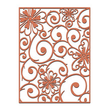 InLoveArts Lace Flower Frame Metal Cutting Dies for DIY Scrapbooking Craft Card Embossing Die Cut New Template Stencil diy scrapbooking lace border background metal cutting dies craft die cut embossing stamps new 2018 stencil template