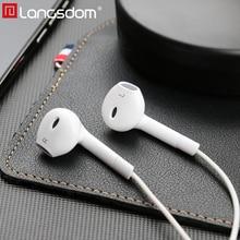 Auriculares Langsdom Hifi en la oreja auriculares bajos con micrófono remoto 3,5mm auriculares para iPhone fone de ouvido Audifonos Mp3 dj