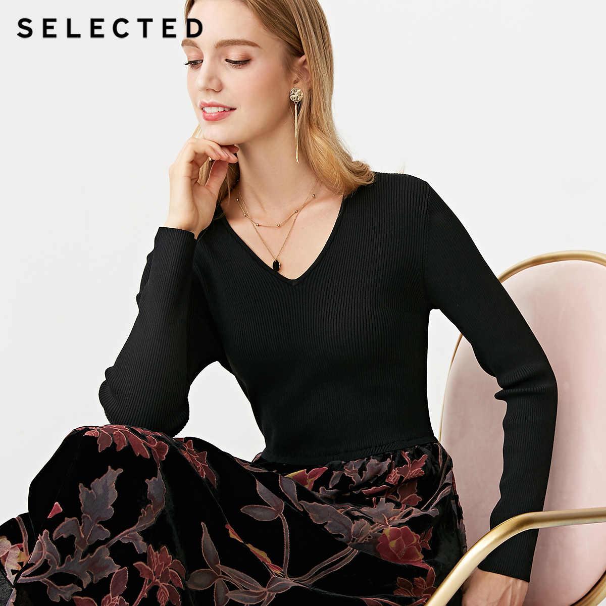 Бархатное платье Слим Фит с v-образным вырезом и длинными рукавами | 418446503