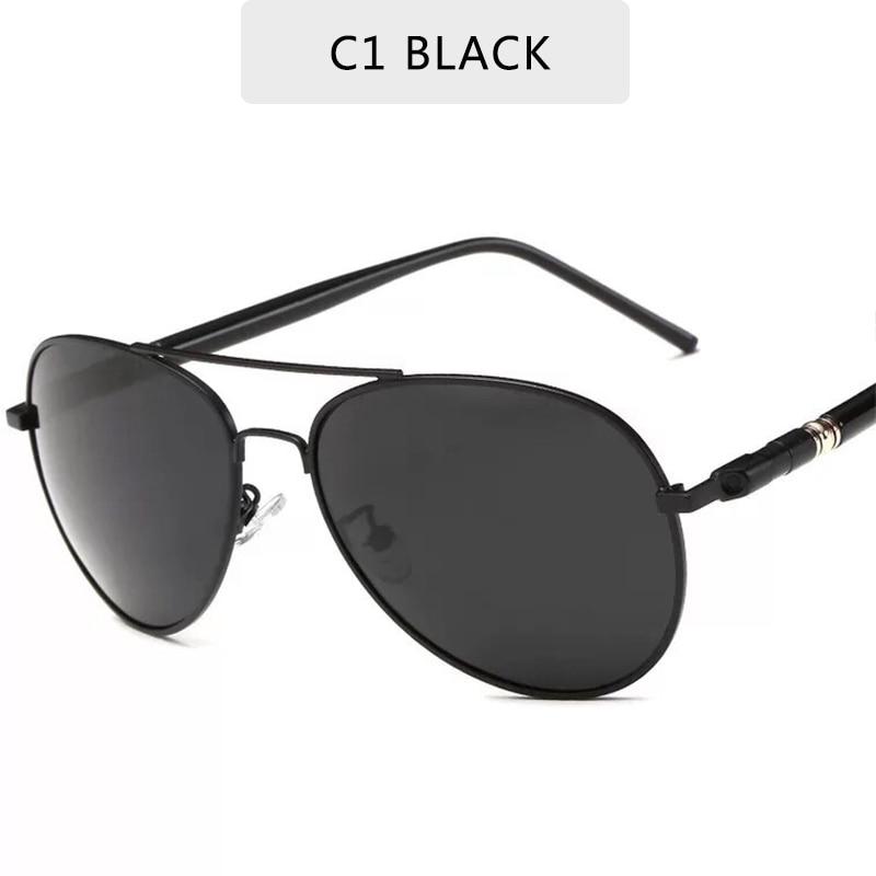 Brand Designer  Polarized  Men's Sunglasses  Vintage Pilot  Male Sun Glasses Eyeglasses Gafas Oculos De Sol Masculino UV400