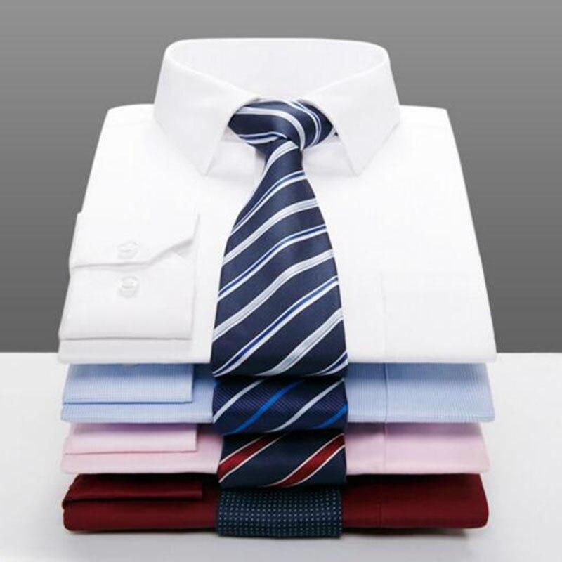 Hommes à manches longues simple boutonnage mode chemises Camisa, respirant confortable solide couleur bonbon Anti-rides robe formelle tissu