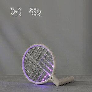 Image 4 - Youpin Sothing Электрическая мухобойка Swat светодиодный заряжаемая Складная мухобойка USB зарядка мухта мухобойка Устранитель мухобойка