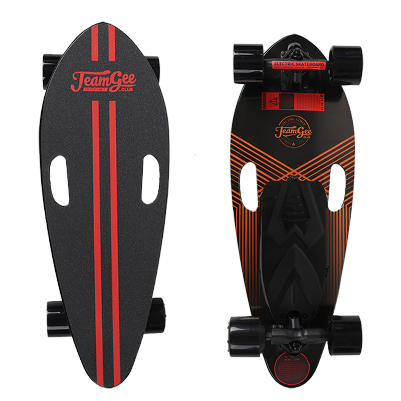 H3-B Electric Scooter For Adults 4 Wheel Electric Scooters Motor 350W Remote Longboard Electric Skateboard